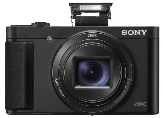 Sony Announces World's Smallest Travel High Zoom Cameras with 4K Movie Capability and Upgraded Image Processor