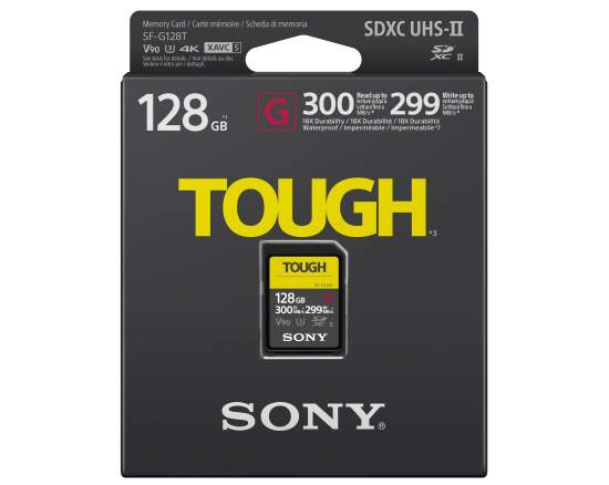Sony introduces the world's toughest and fastest SD Card